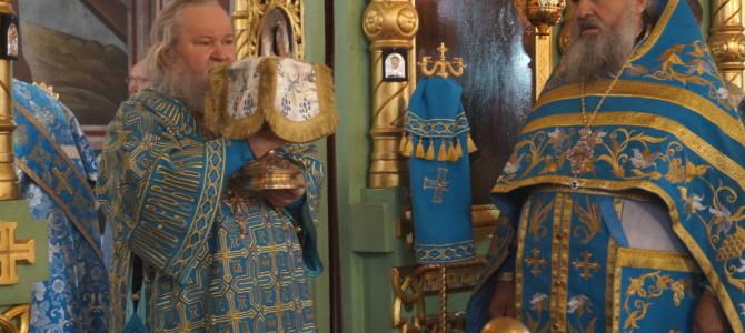 В праздник Рождества Пресвятой Богородицы Божественную Литургию в Свято-Троицком кафедральном соборе г.Невеля возглавит епископ Великолукский и Невельский Сергий.