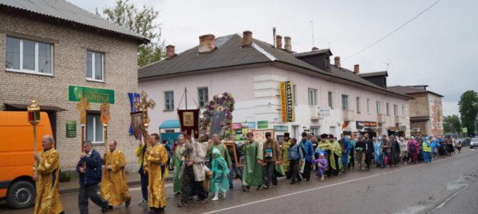 9 июня, в день обретения мощей преподобного Нила Столобенского в Невеле пройдет Крестный ход к месту разрушенного Спасо-Преображенского монастыря.