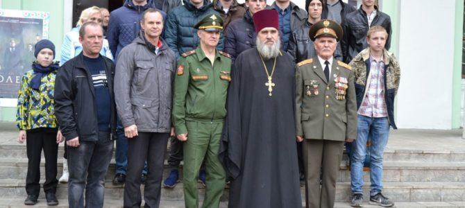 12 октября состоялось торжественное мероприятие, посвящённое проводам юношей в ряды Российской армии.