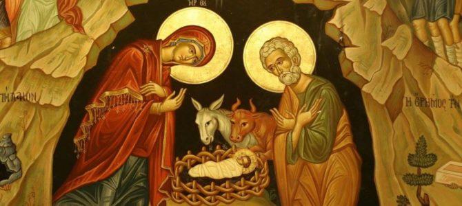 РАДОСТЬ РОЖДЕСТВА ХРИСТОВА. Поздравление с Праздником от настоятеля собора Святой Троицы г.Невель