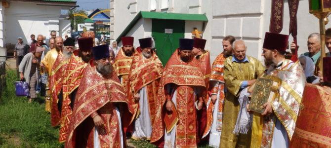 В Свято-Троицком кафедральном соборе г.Невеля состоялось соборное богослужение духовенства Невельского благочиния