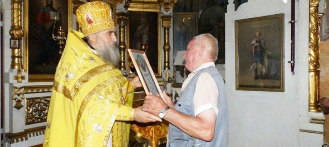 29 июля 2018 года в Свято-Троицком кафедральном соборе г.Невеля состоялось вручение юбилейных грамот Великолукской епархии в ознаменование великого празднования 1030-летия Крещения Руси.